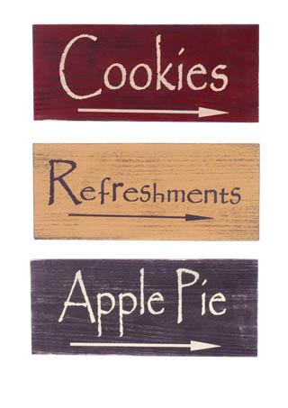 Apple-cookies-wood-signs