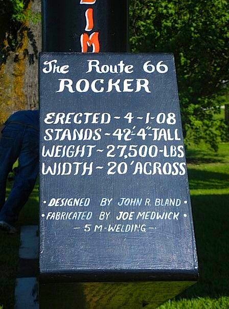 rocking chair sign